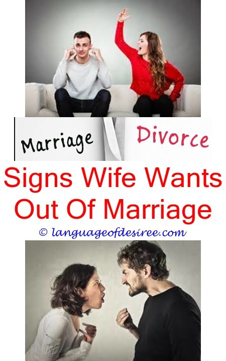 Signs wife wants out of marriage