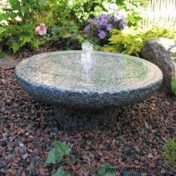 vattenfontän till trädgård