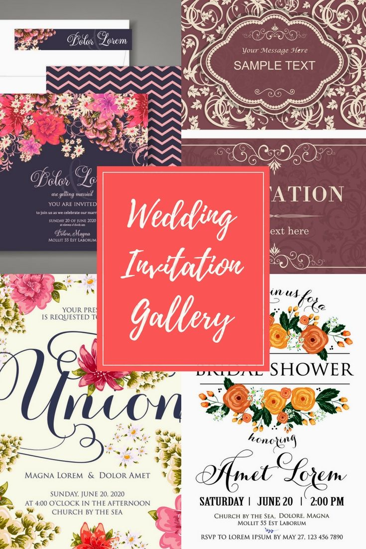 24 Fully Personal, Fashionable And Cost Effective Wedding Invitation ...