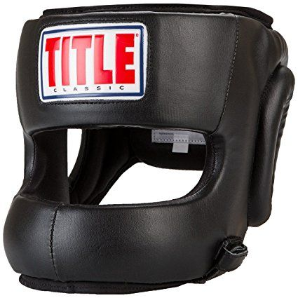 b1b103e704b61 TITLE Classic Youth Face Protector Headgear. Boxing headgear. Boxing ...