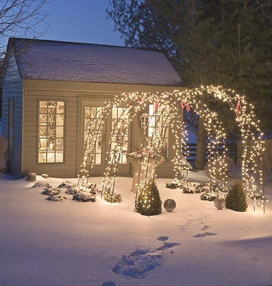 Pretty. A good way to add light to the front of your house if you ...