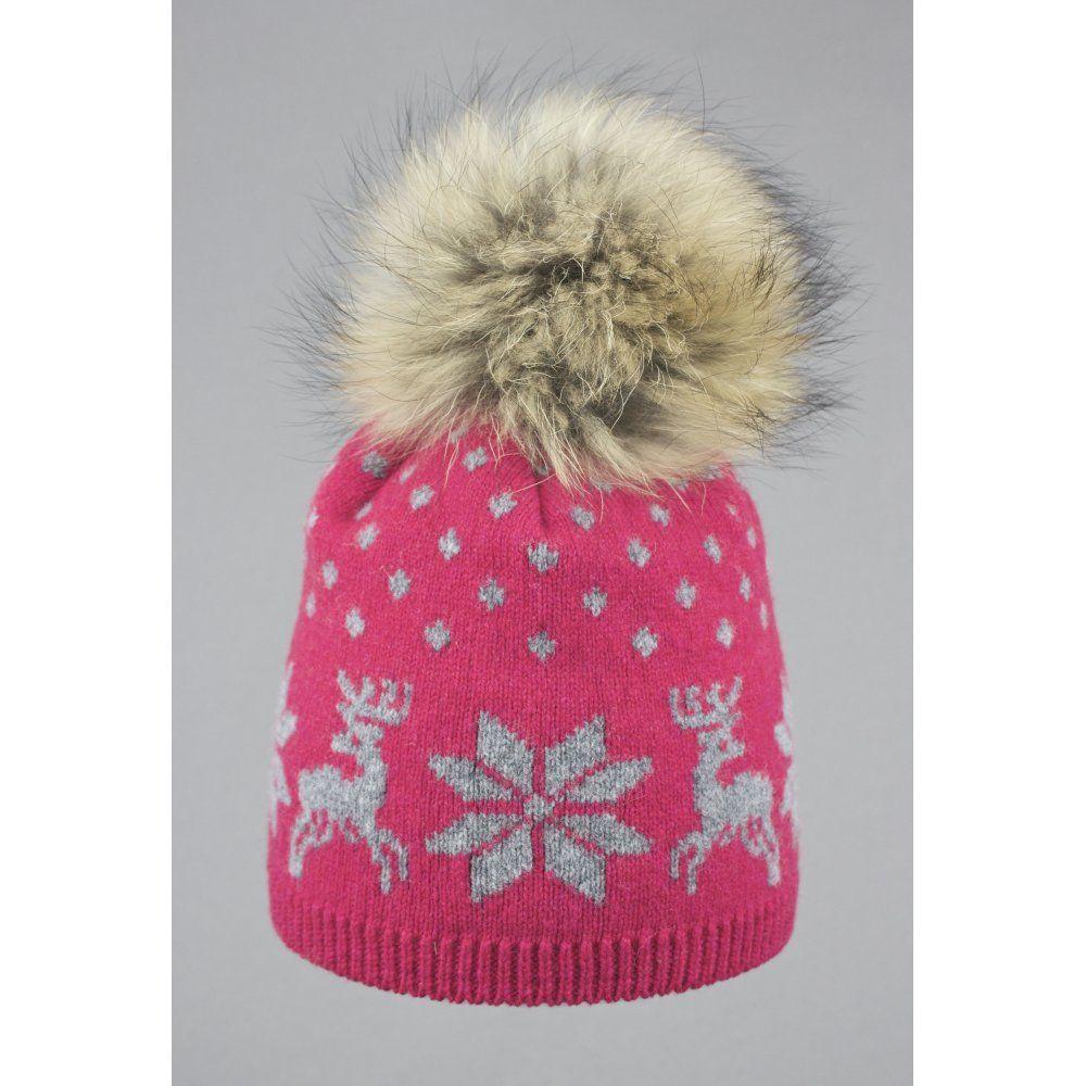 0eb4210602c Steffner Nordic Womens Ski Hat In Pink