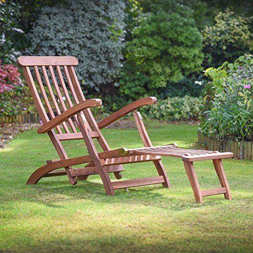 Charles Bentley Garden Large Folding Curved Reclining Wooden Sun Lounger Patio Sunbed & Charles Bentley Garden Large Folding Curved Reclining Wooden Sun ... islam-shia.org