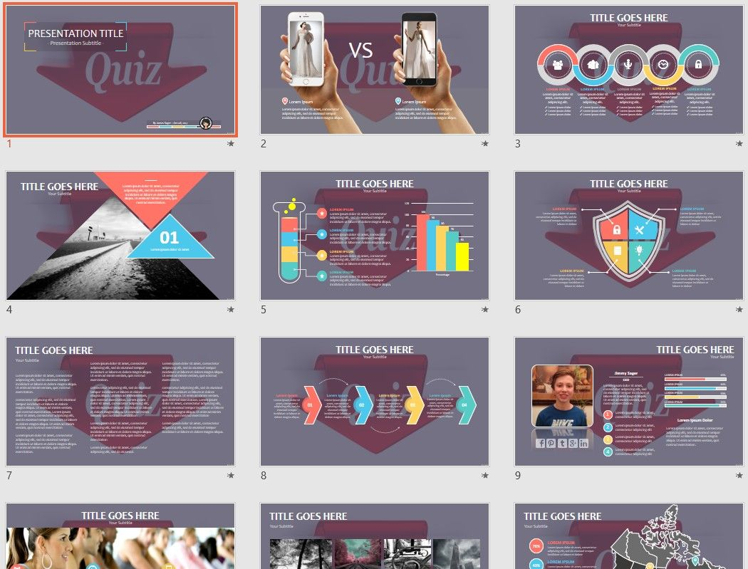 Quiz Ppt By Sagefox Powerpoint Free Powerpoint Templates Powerpoint