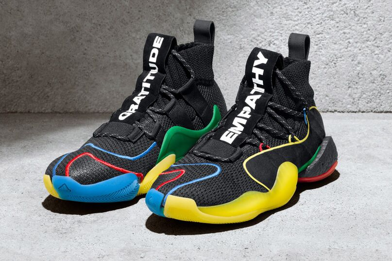best authentic b5d94 7ce55 PHARRELL WILLIAMS X ADIDAS CRAZY BYW LVL X GRATITUDE