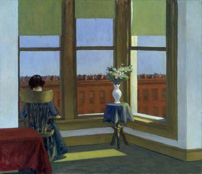 Room in Brooklyn,  Edward Hopper