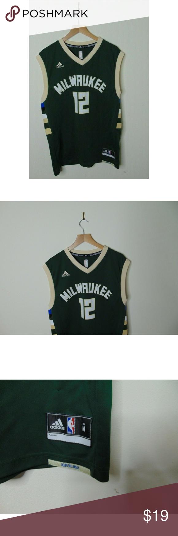 b8b1be99138 Adidas M Jabari Parker Basketball Jersey NBA Adidas Men M Jabari Parker  Basketball Jersey Milwaukee Bucks
