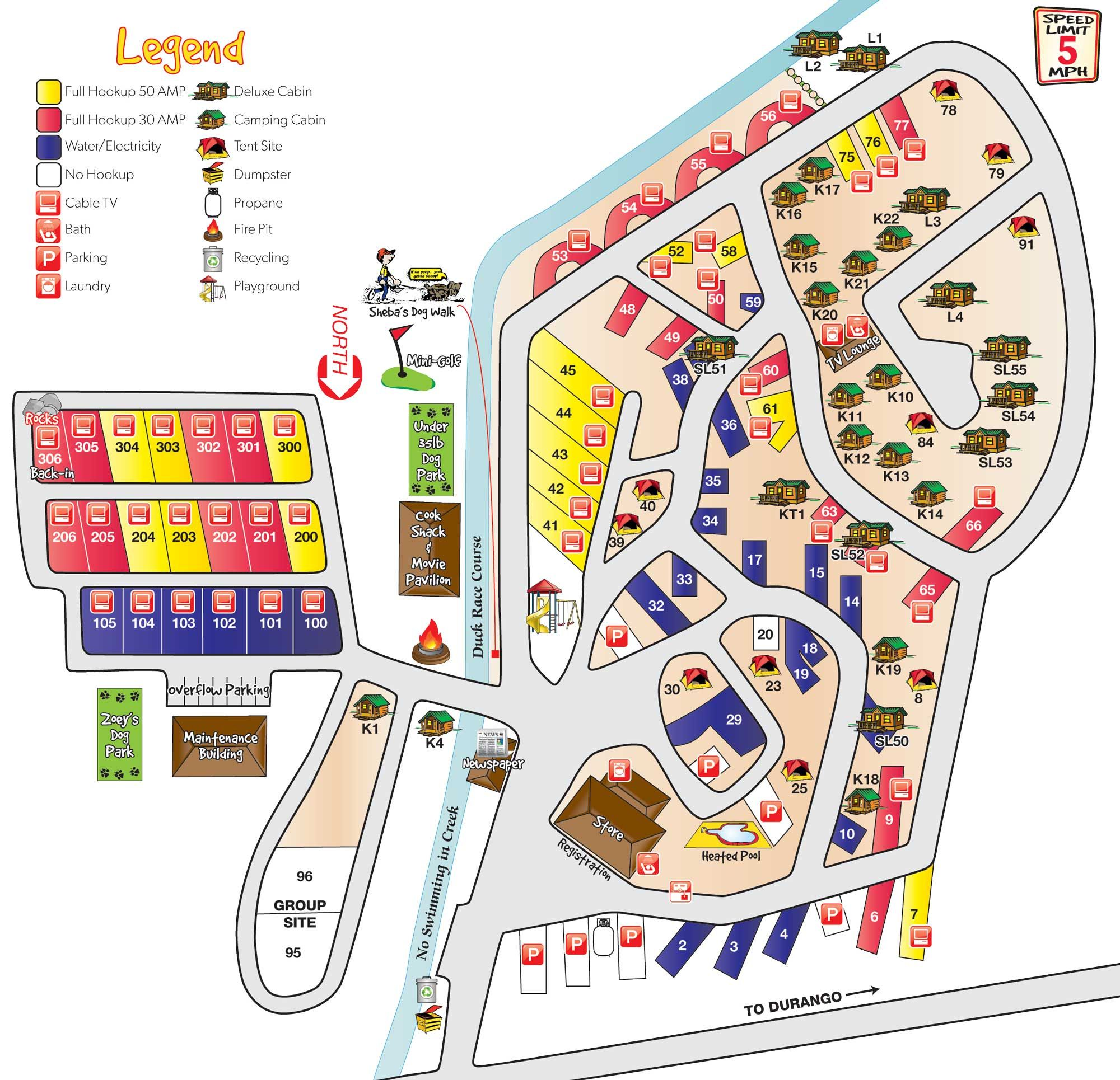 virginia koa campground map google search camp ground design