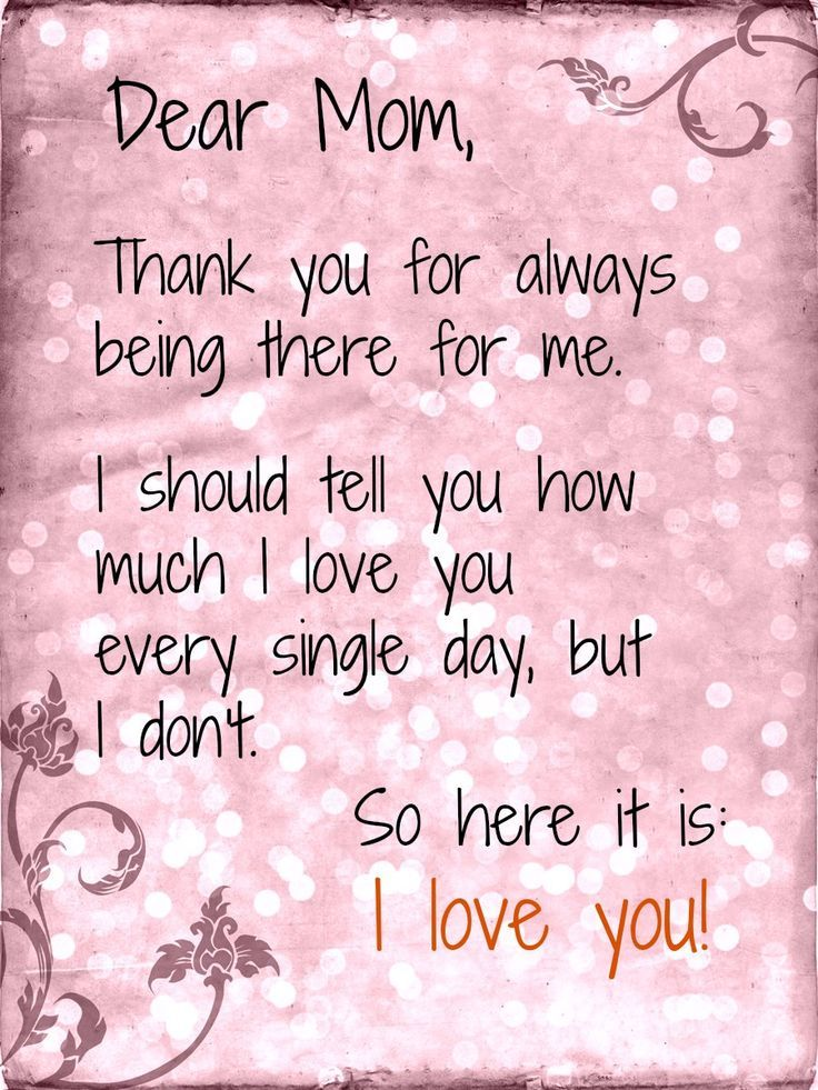 Thank You Mother Quotes : thank, mother, quotes, Happy, Mothers, Quotes, Thank-you, Letter, Everywhere!, You've, Done…, Daughter,, Poem,, Thank