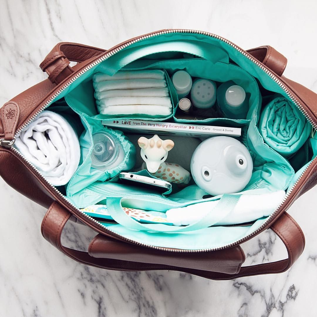Beautiful Leather Diaper Bags For Every Season Of Life By