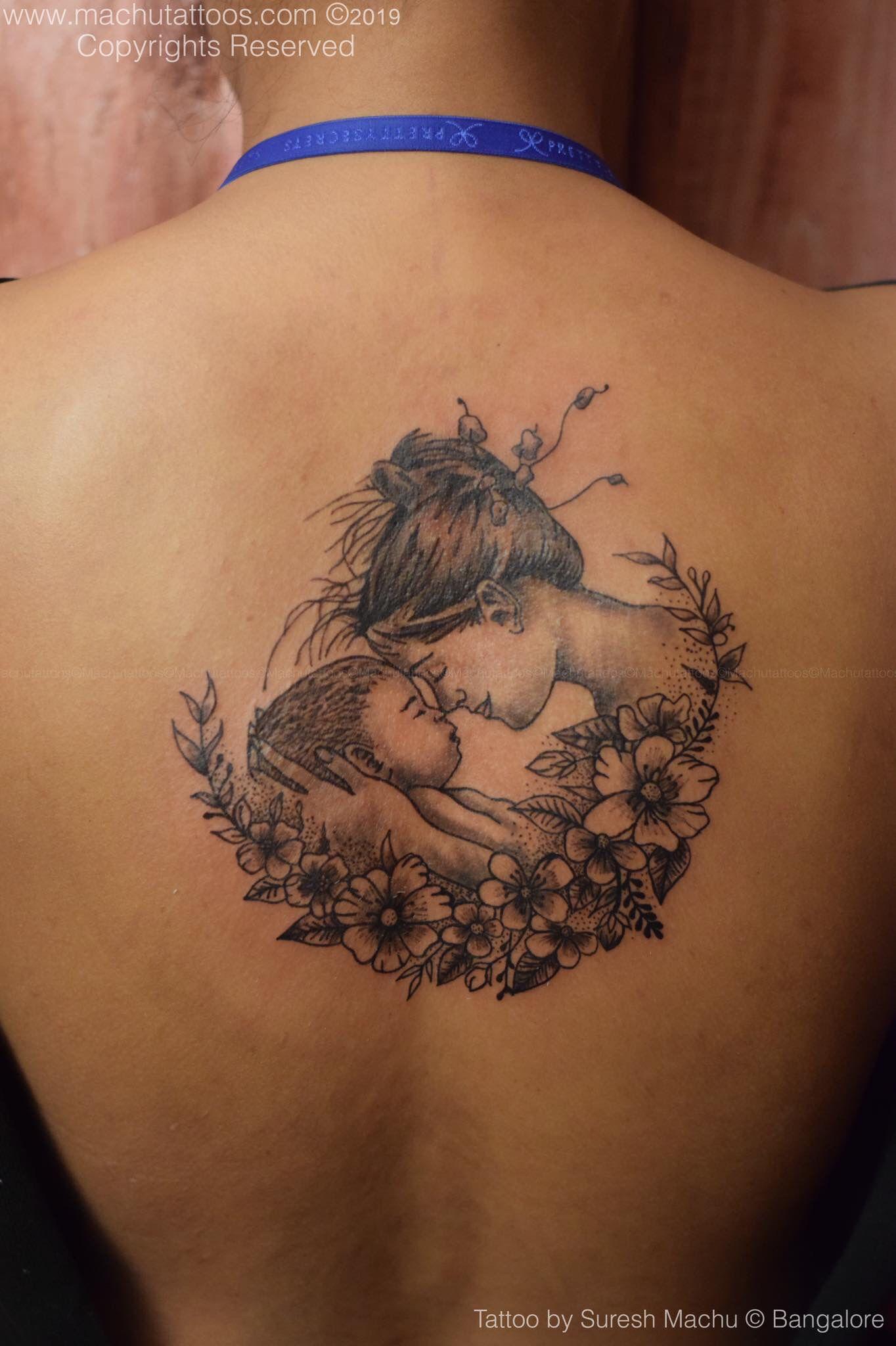 India Love Back Tattoo : india, tattoo, Tattoo, Daugter, Artists,, Studio,, Tattoos