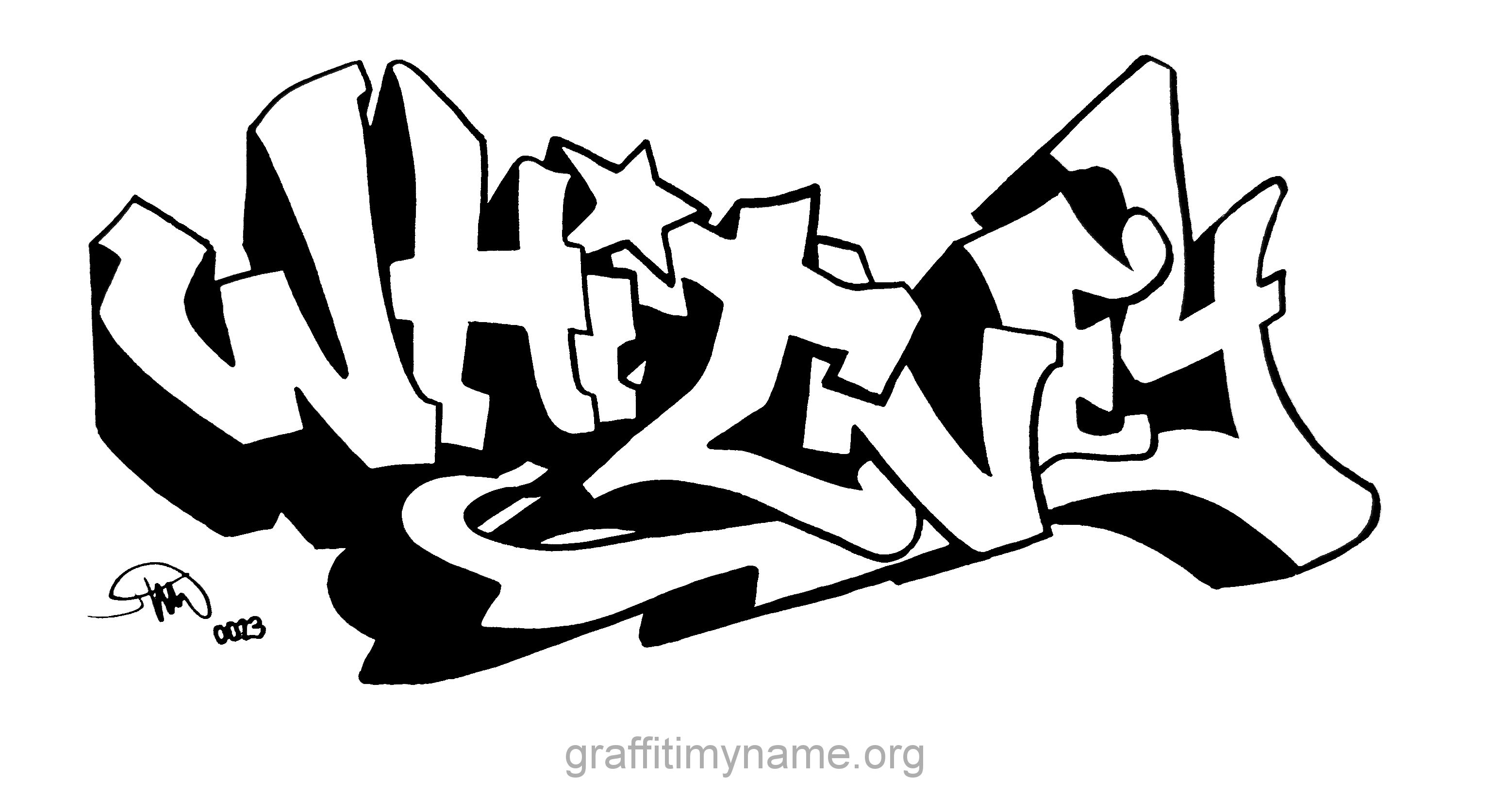 The name whitney images whitney in graffiti