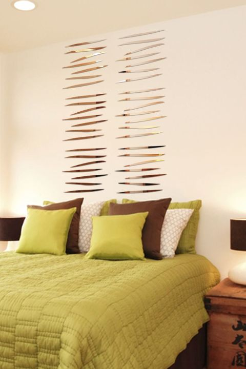 Wall Decals with Reflective Mirror like Finish on Pinterest ...