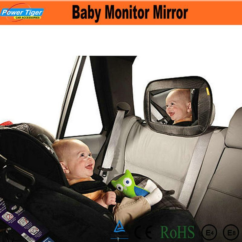 Auto Mirror Infant Baby View Mirror Back Seat Safe Rear Mirror Baby