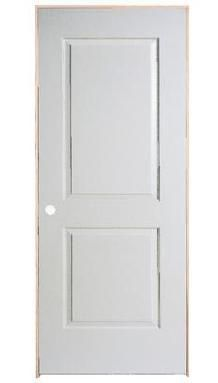 28 Inch X 80 Righthand 2 Panel Smooth Prehung Interior Door