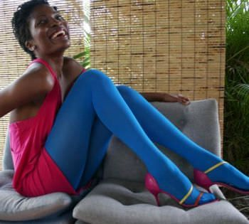 Ebony Girls In Tights