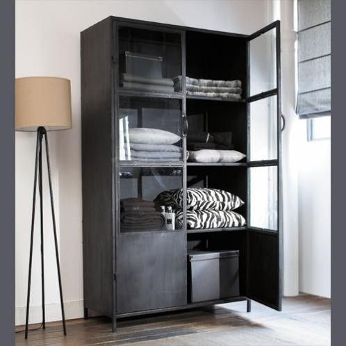 kast metaal industrieel google zoeken huis pinterest industrieel kast en zoeken. Black Bedroom Furniture Sets. Home Design Ideas