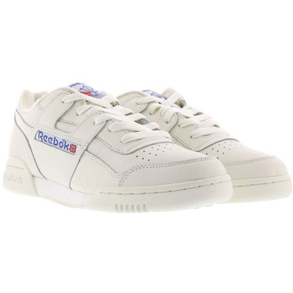 b072faa818538 Reebok Workout Plus Vintage Sneakers (270 BRL) ❤ liked on Polyvore  featuring shoes