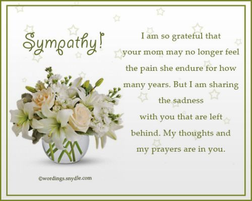 Sympathy Messages for Loss of innige simpatie Pinterest - sympathy message