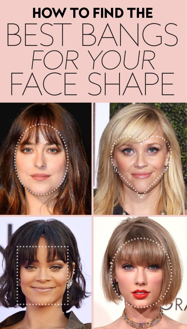 These Are The Best Bangs For Every Face Shape According To Stylists