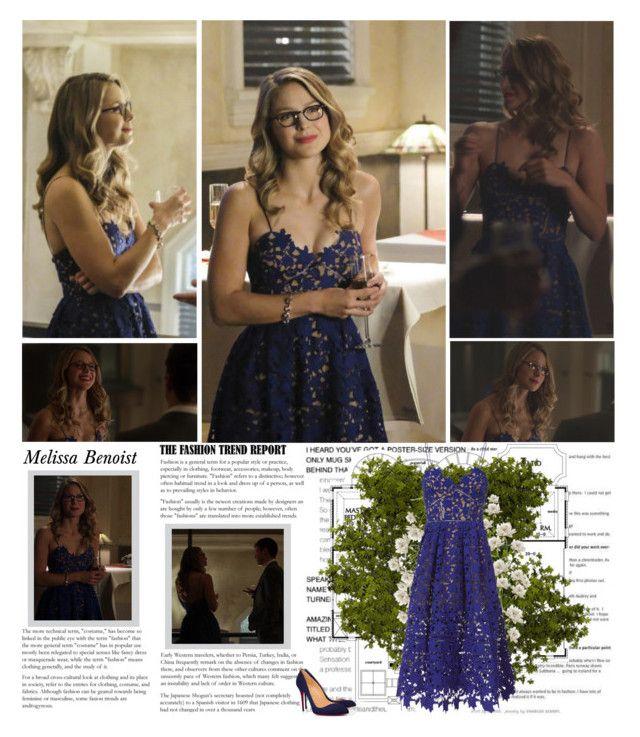 "Melissa Benosit as Kara Danvers. {Supergirl - 3.08 ""Crisis on Earth ..."