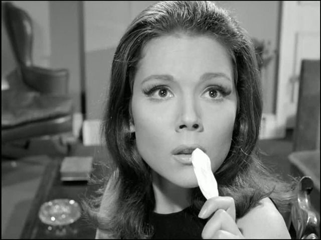 Gorgeous pic of Emma Peel <3  From 'Honey for the Prince'
