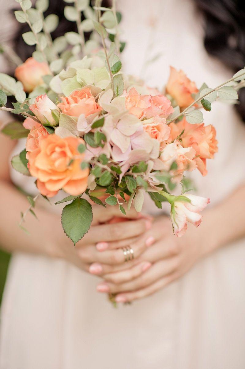 Boho Hochzeit Inspirationen In Apricot Und Gold Von Kido Design