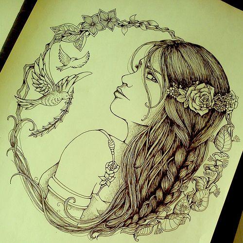 Aphrodite by nemesiris, via Flickr | Draw & Doodle ...