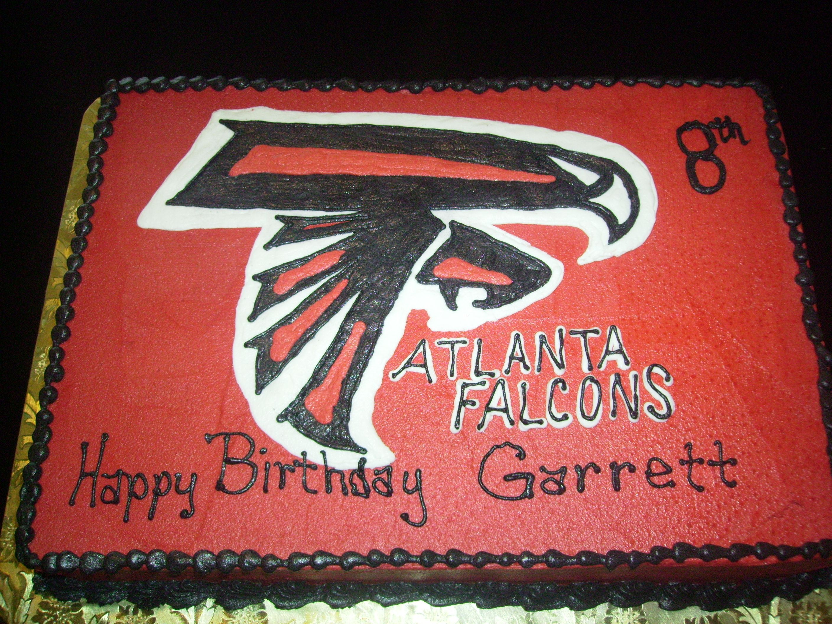 Atlanta Falcons Birthday Cake The Amazing Cakes Bakery Pinterest