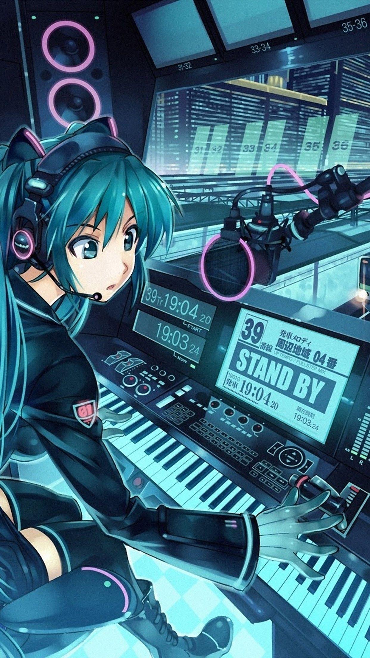 New Anime Wallpaper iPhone 7 Plus Anime neko, Gambar