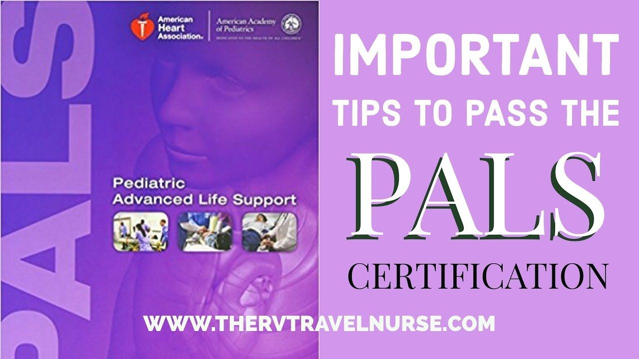 pals certification pediatric certificate certifications many