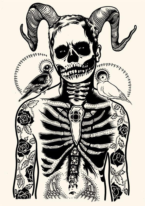 Parka o Demonio? ilustración de Tim McDonagh   BSC   Pinterest ...