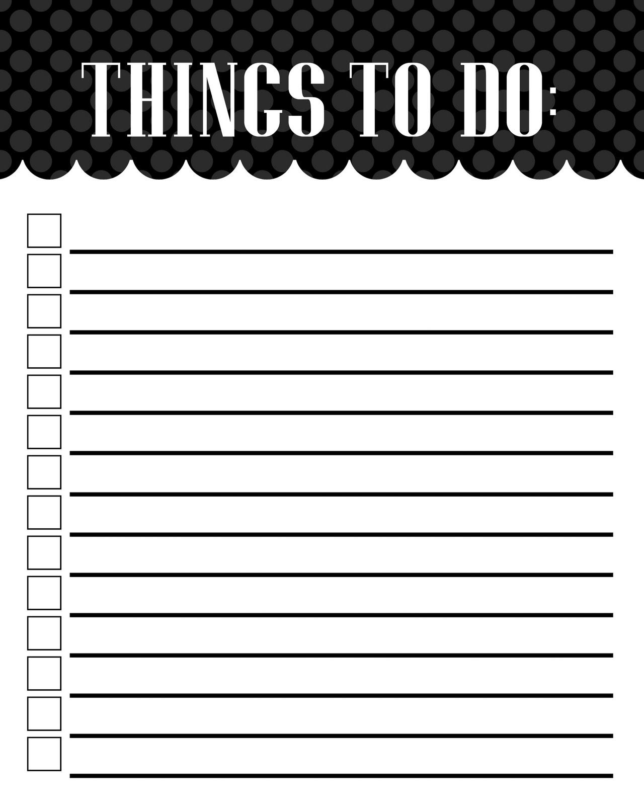 to do list printable word excel pdf | maxcalendars | pinterest