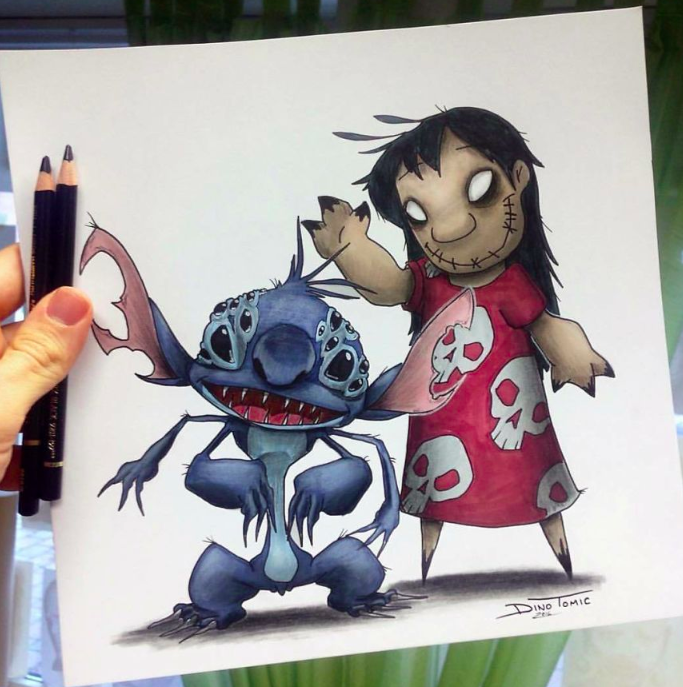 This Artist Draws Monster-Like Renditions Of Our Favorite ...