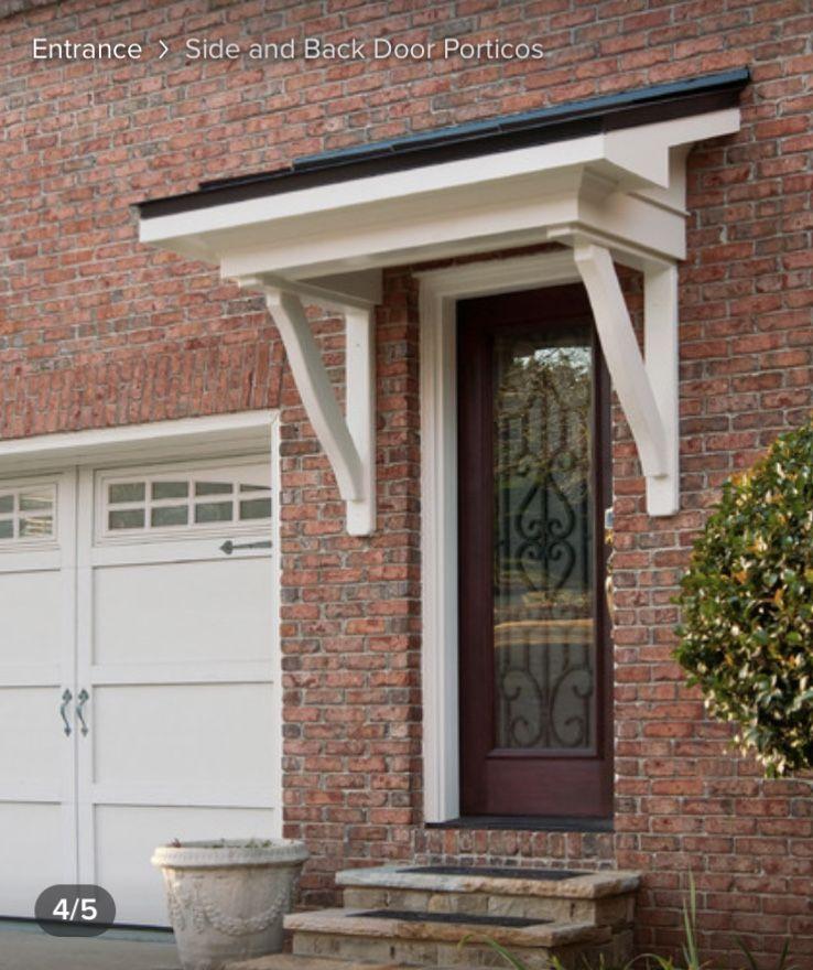 Pin By Sharon Hackett On Door Entrance In 2020 Back Doors Portico Design Portico Entry