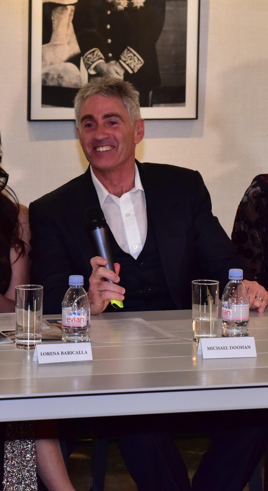 Mick Doohan durante il 2° WSLA Press Conference, Gli