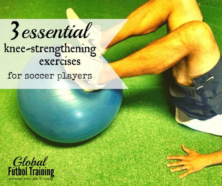 3 essential knee strengthening tips for soccer players