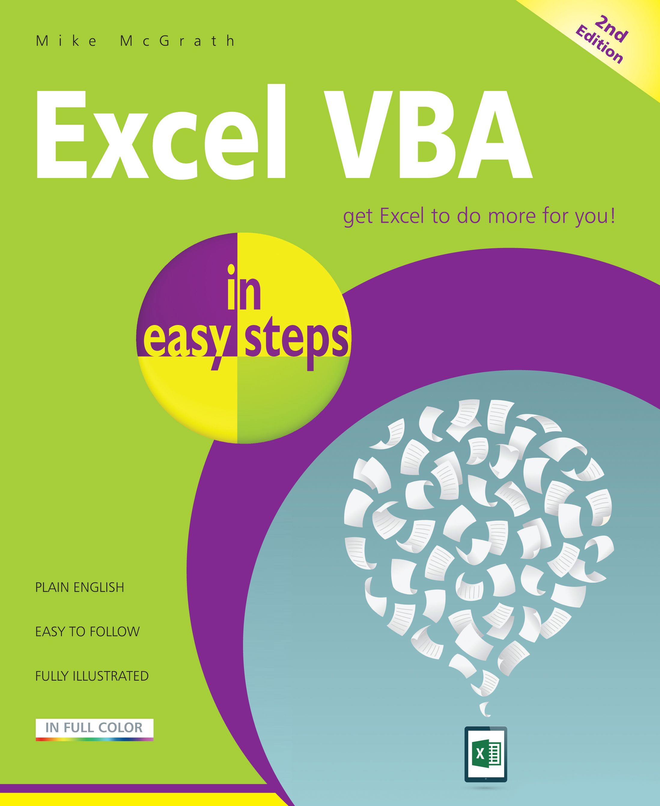 Excel Vba In Easy Steps 2nd Edition