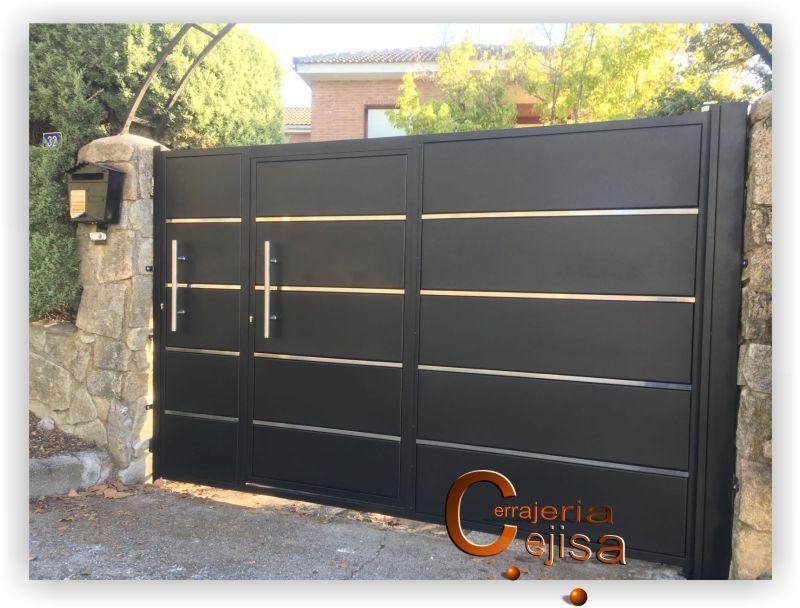 Puerta Modelo Bandeja Puertas Corredizas Modernas Puertas De Garage Modernas Puertas De Metal