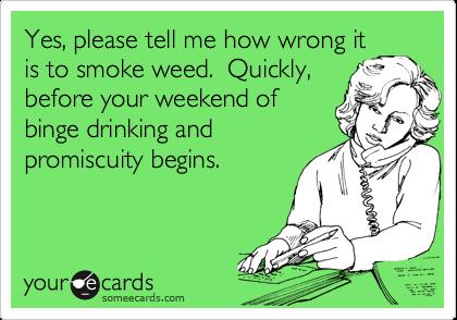 I don't smoke, but I enjoyed this.