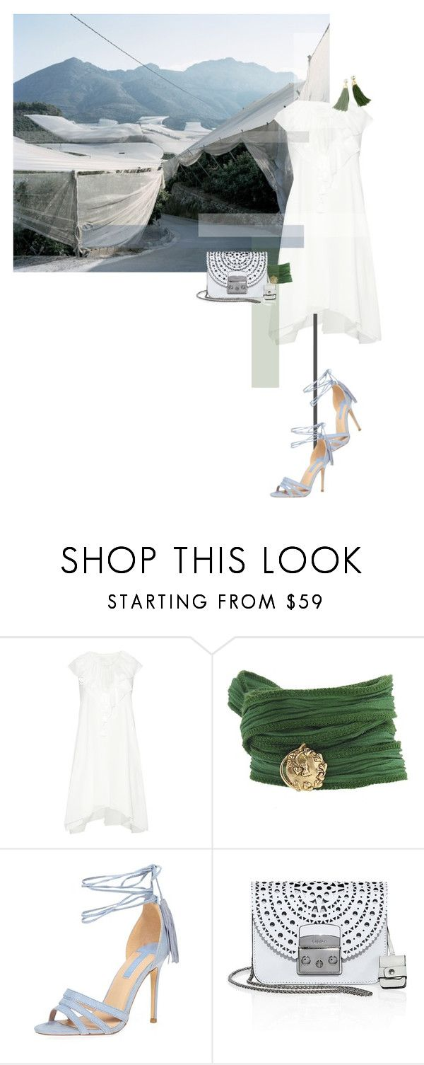 """""""postcard from far away"""" by dear-inge on Polyvore featuring Chloé, Catherine Michiels, Dorothy Perkins, Furla and J.Crew"""