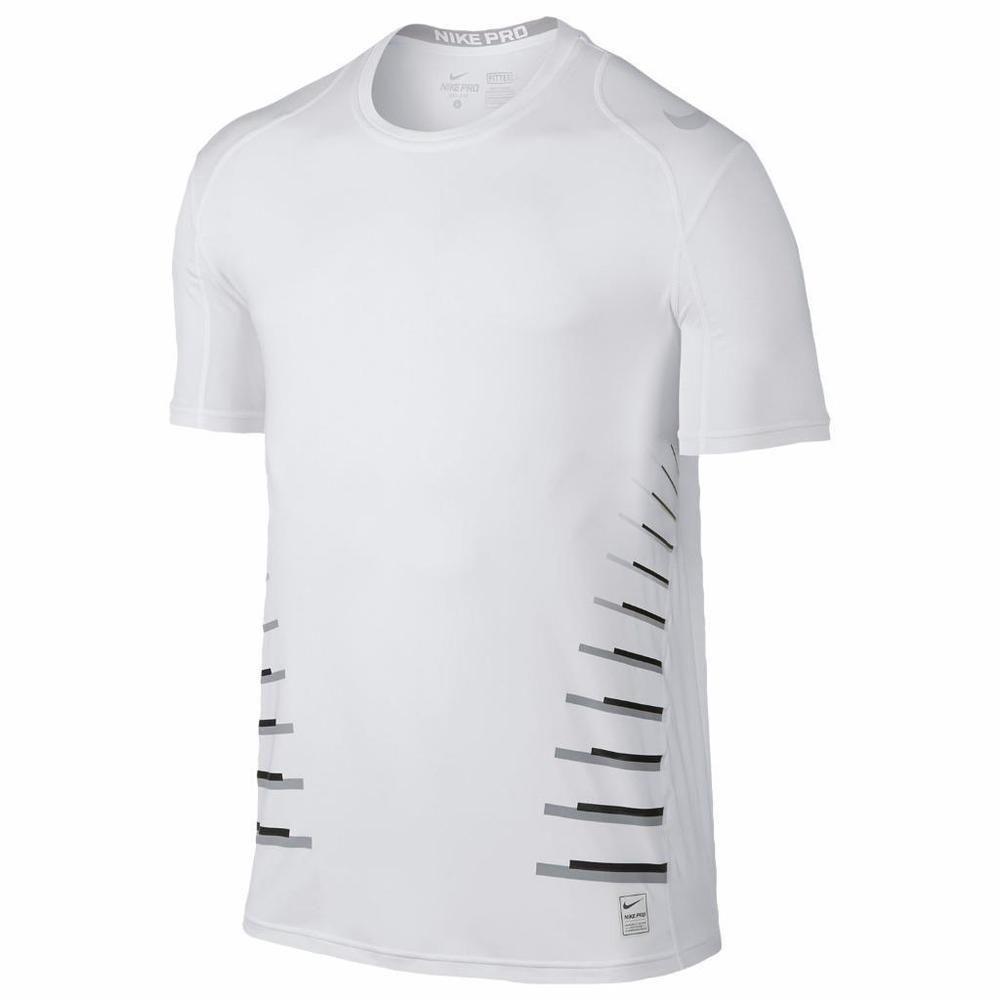ef976e2f6 Nike Mens 2XL Pro Cool Speed Vent Fitted Training TShirt XXL White  811211-100 #Nike #ShirtsTops