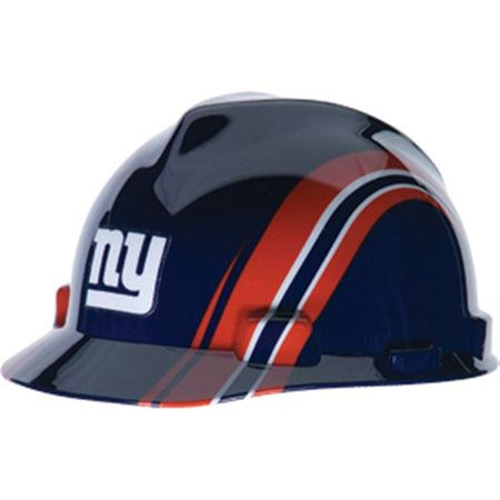 New York Giants Hard Hat - NFL Licensed Construction Safety  3003cf91a92