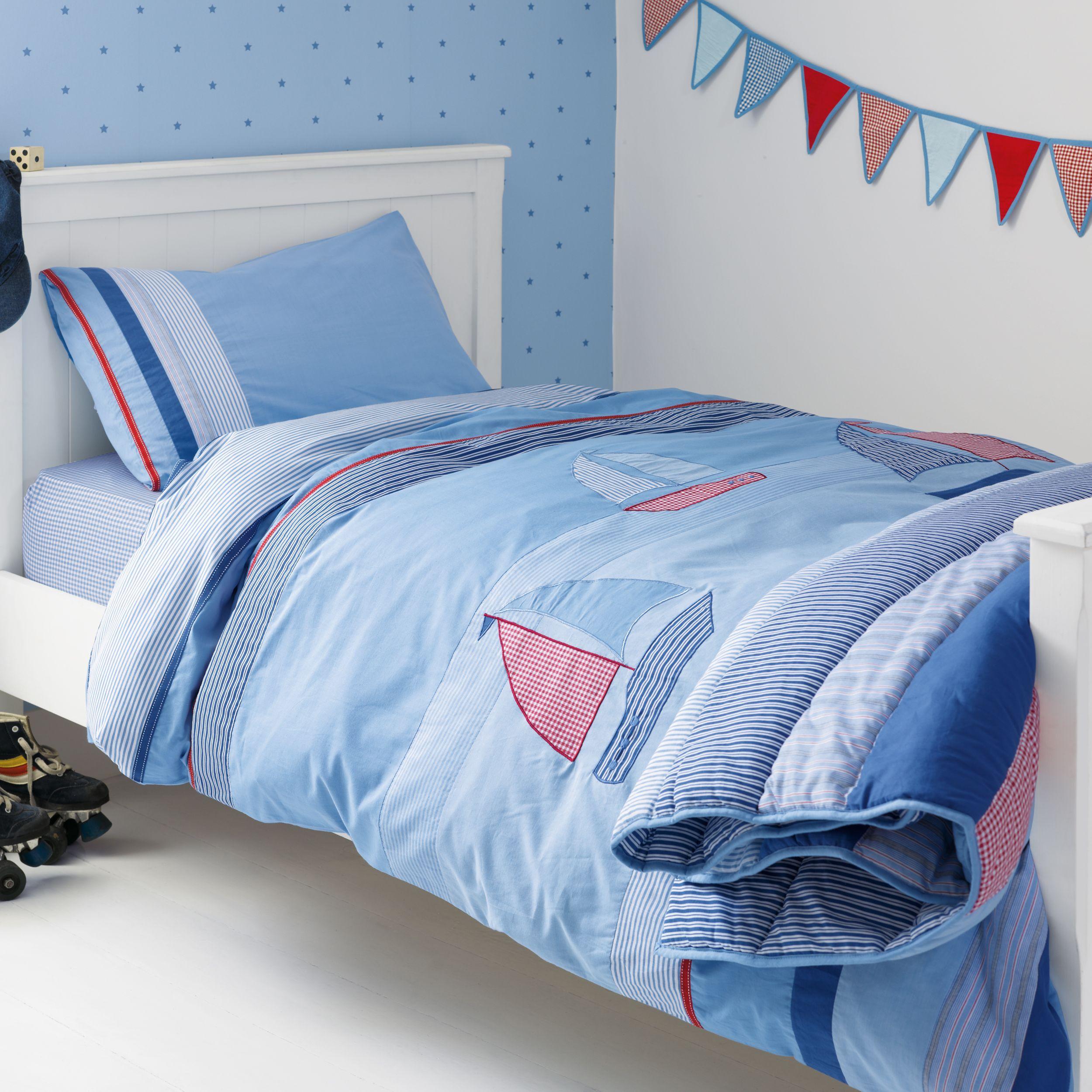 Kids Room On The Sea Cotton Duvet Set