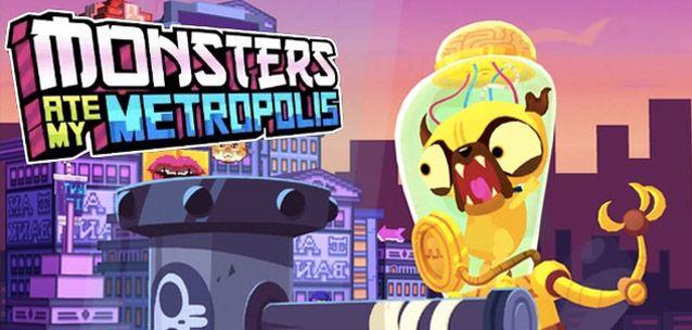 Monsters Ate My Metropolis per #iPhone e #Android - pazzia, ironia e distruzione!!!!!  http://xantarmob.altervista.org/?p=33011   #games
