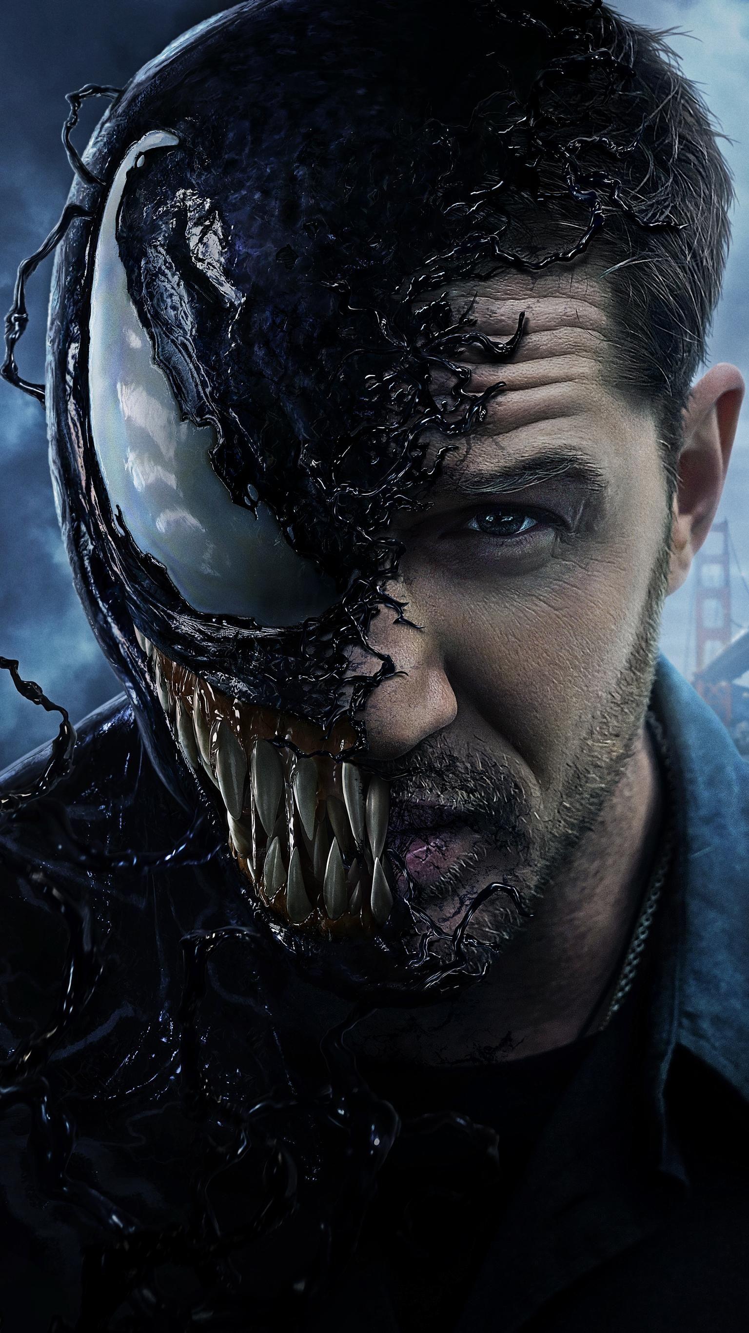Venom 2018 Phone Wallpaper Moviemania In 2021 Venom Movie Venom Pictures Venom Comics
