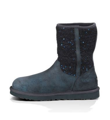 UGG Navy Blue Sparkle Lyla Boot #Cozy #Navy #Blue