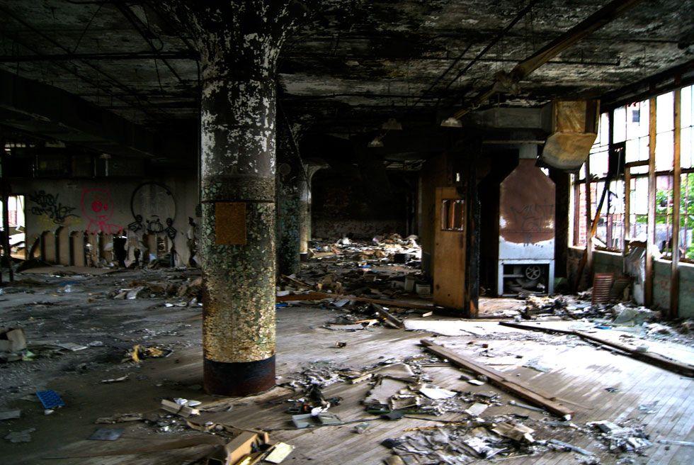 Abandoned Sykes Factory In Rochester Ny Abandoned Warehouse