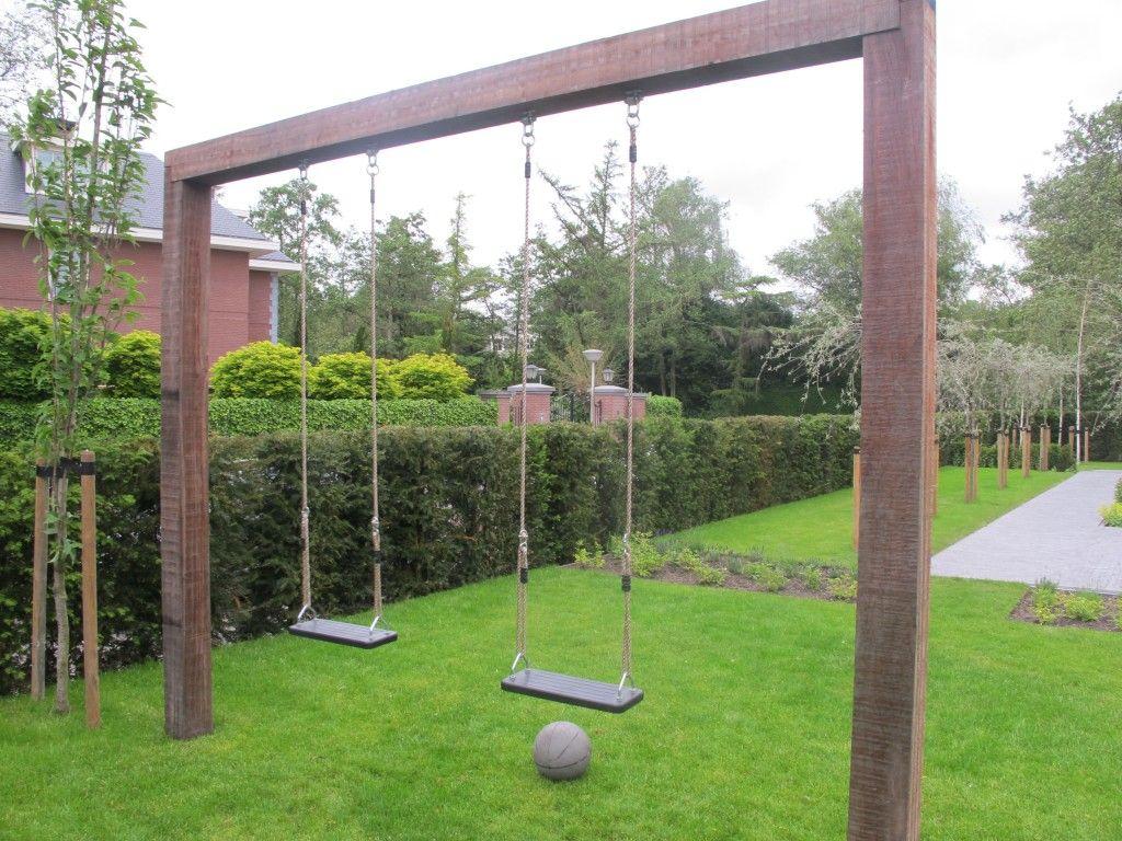 Schommel Voor Tuin : Schommel die ook leuk is om te zien in de tuin backyard
