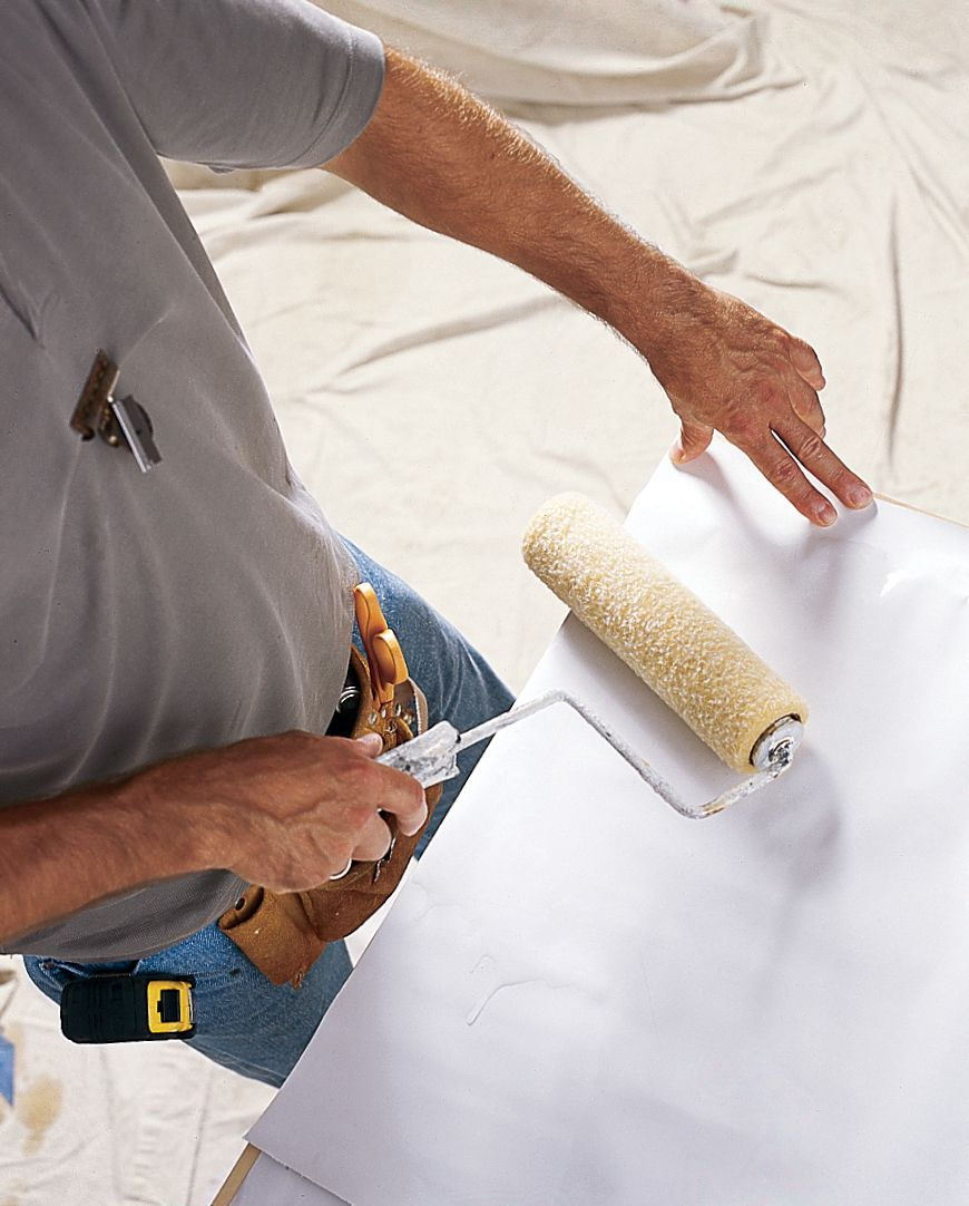 how to apply wallpaper paste